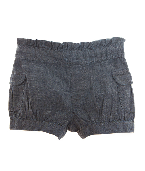 Denim-shorts-jente