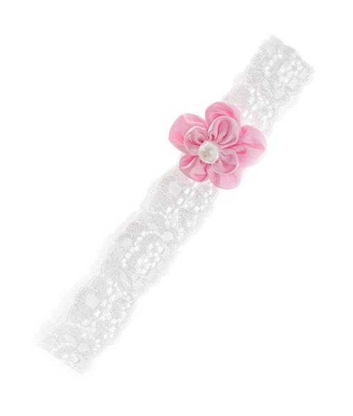 Hvit-rosa-hårbånd-blonder