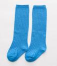 Blå knestrømper – mønster